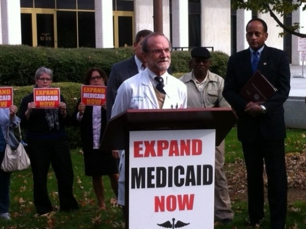 US Senate candidate Thom Tillis reverses course, urges NC to consider expanding Medicaid