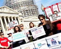 Groups Gather at Nation's Capitol to Pressure Congress to Ban Fracking on Public Lands