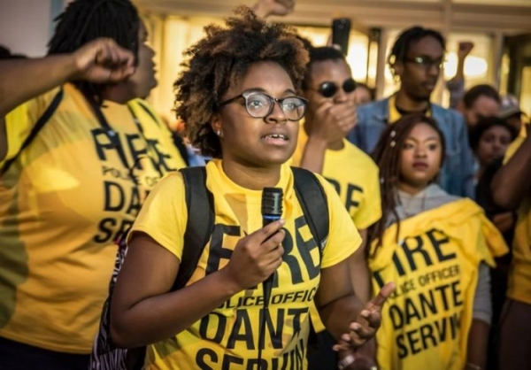 Charlene Carruthers, 30, has helped bring youth front and center in Chicago's anti-police-violence movement.