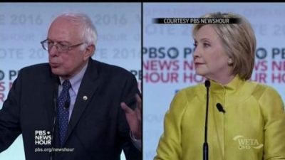 Clinton and Sanders Debate How Much to Expand Social Security