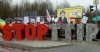 An anti-TTIP action last month in Germany.