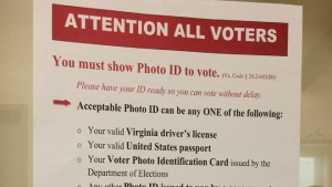 Dems file suit on Virginia photo ID, other voting rules