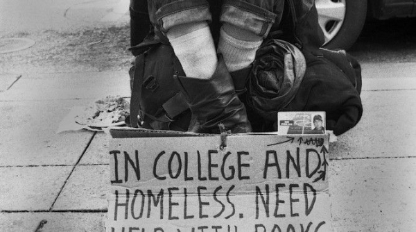A Look Into The 'Double Lives' Of America's Homeless College Students