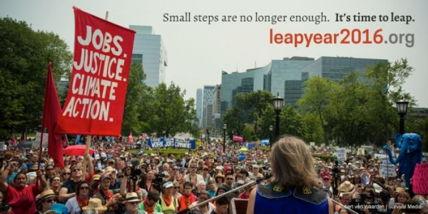Why You Should Get Excited About 2016: It's A Leap Year For Climate Justice