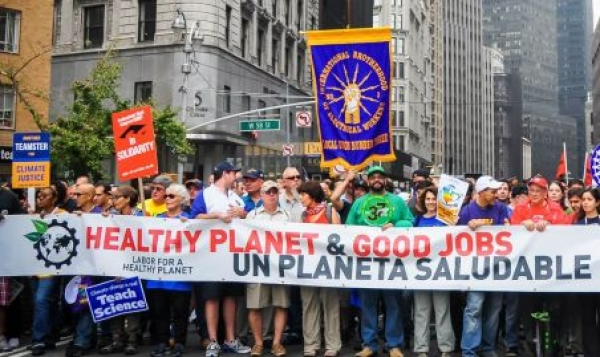 How Climate Protection Has Become Today's Labor Solidarity