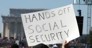 """Republicans are manufacturing a phony crisis in Social Security in order to cut the earned benefits of millions of the most vulnerable people in this country,"" says Vermont Senator Bernie Sanders."