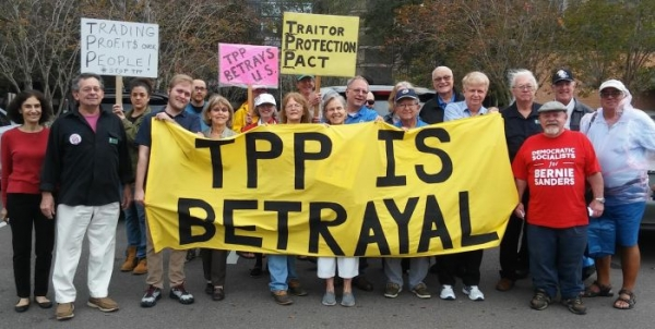 Statement of Lori Wallach, Director, Public Citizen's Global Trade Watch on the Demise of the Trans-Pacific Partnership in the Lame-Duck Session of Congress