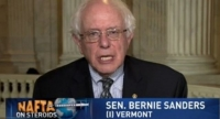 Sanders: TPP Trade Deal a 'Disaster'
