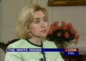 "Hillary Clinton in 1994: ""There is something wrong when a crime bill takes six years to work its way through the Congress, and the average criminal serves only four. There is something wrong with our system."""